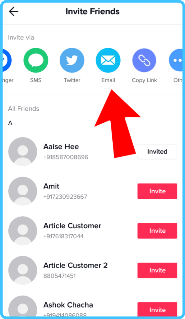 How To Invite Your Friends To Follow You In Tiktok 8 Steps With Screenshots Tik Tok Tips