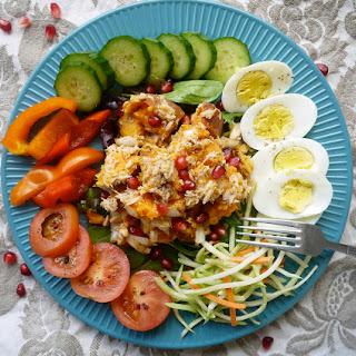 Sweet Potato Salad Niçoise (paleo, GF)