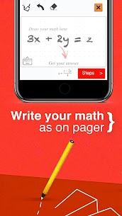 Math Solver – math camera solver Mod Apk (Pro Unlocked) 3