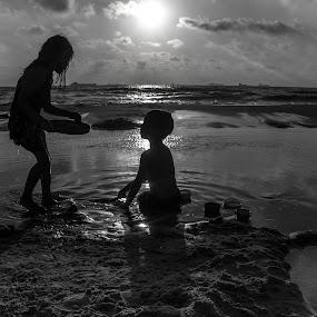 by Yakov Zak - Black & White Portraits & People