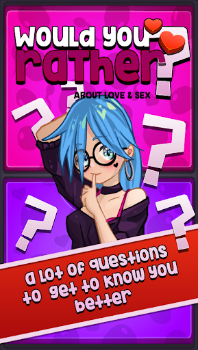 Would you rather? Trivia about love & sex 3.7 screenshots 1