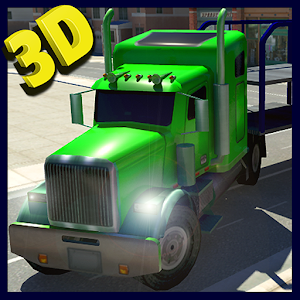 Car Transporter Cargo Truck 3D for PC and MAC