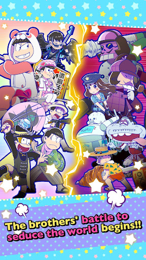 Osomatsu-san Hesokuri Wars~Battle of the NEETs~  {cheat|hack|gameplay|apk mod|resources generator} 5