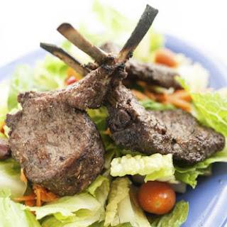 Lamb Chops Dijon.