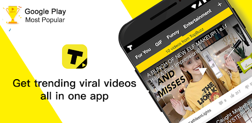 TopBuzz Video: Viral Videos, Funny GIFs &TV shows APK
