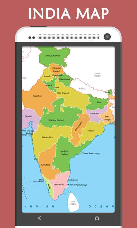 Indian State Capital  MAP  Android Apps on Google Play