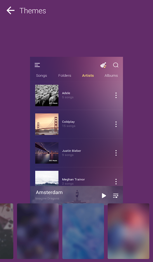 how to download music on go music app