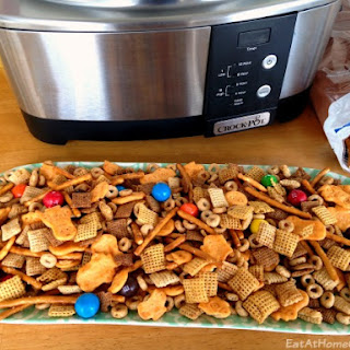 'Sweet Heat' Slow Cooker Chex Mix
