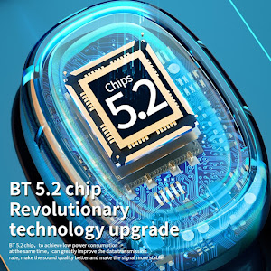 Casti Wireless TWS J7, rezistente la apa, Bluetooth 5.2
