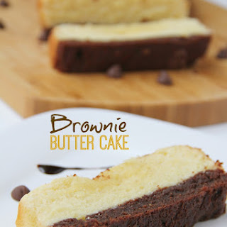 Brownie Butter Cake.
