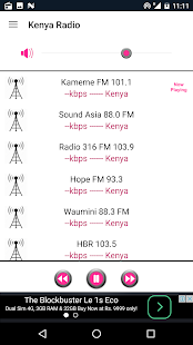Kenya Radio- screenshot thumbnail