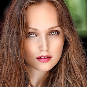 Beautiful eyes by Crispin Lee - People Portraits of Women (  )