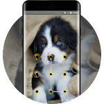cute puppy pet lock theme emotion life pets Icon