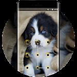 cute puppy pet lock theme emotion life pets Icon