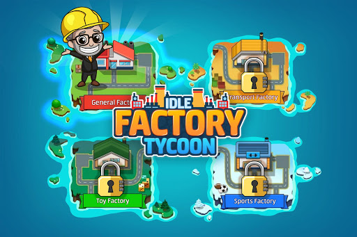 Idle Factory Tycoon: Cash Manager Empire Simulator screenshot 1
