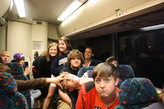 Photo: band bus rides!