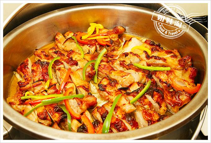蓮潭國際會館西式自助餐