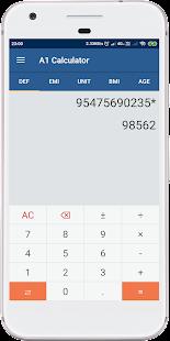 A1 Calculator - náhled