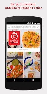 Box8 - Food Delivery- screenshot thumbnail