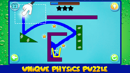 Water Draw: Unique Physics Puzzle screenshot 13