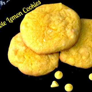 Double Lemon Cookies