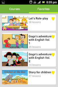 English Conversation for Kids Apk  Download For Android 2