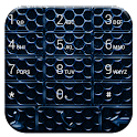 Dialer CarbonMetalBlue Theme