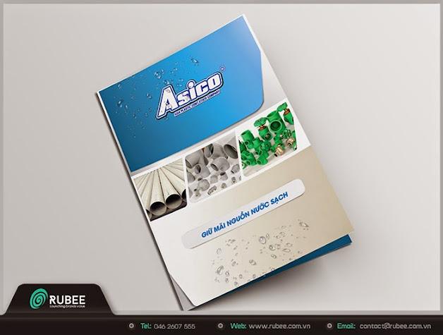 Thiết kế kẹp file Asico 2 đẹp