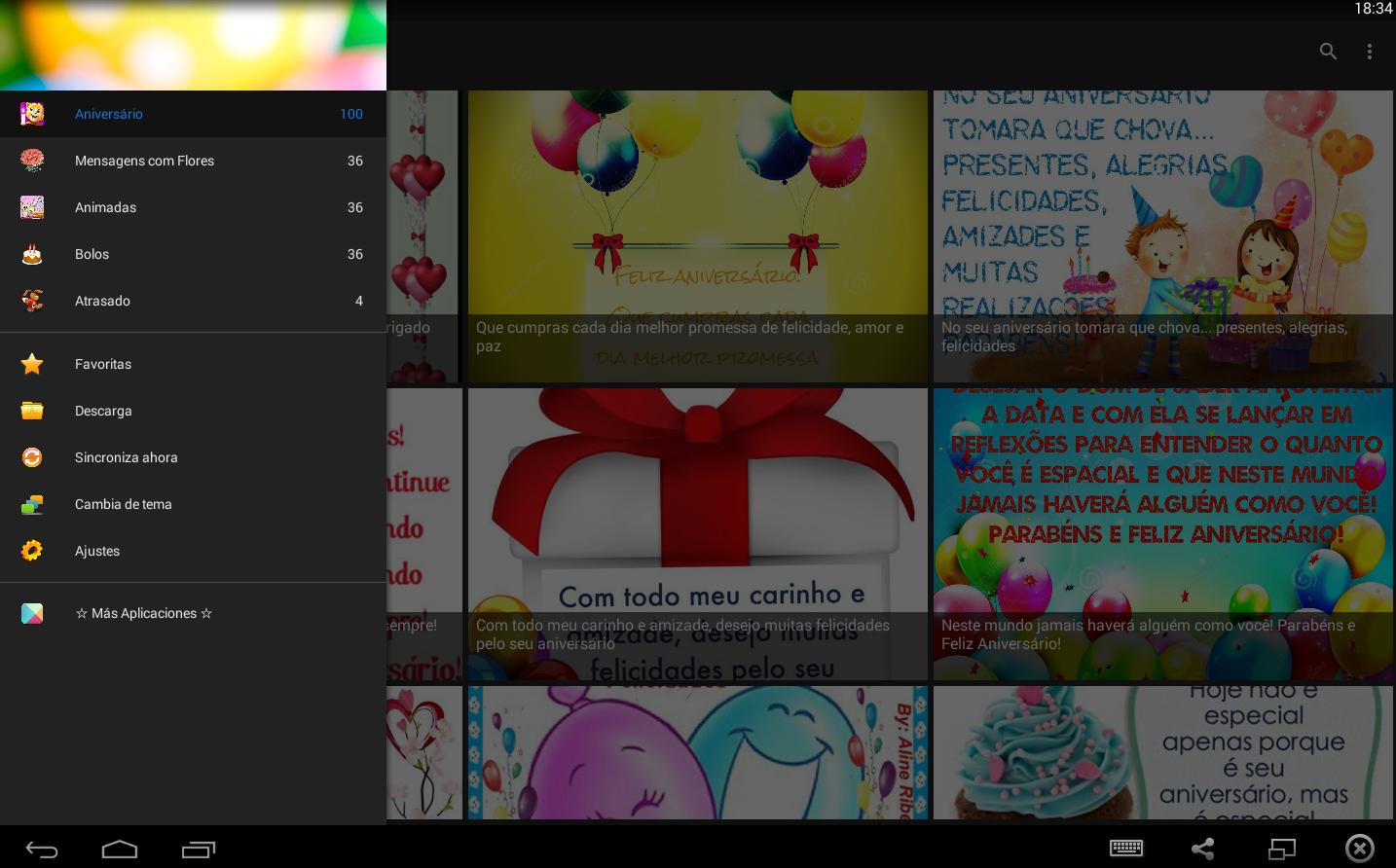 Feliz Aniversario Atrasado: Android Apps On Google Play