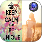 Keep Calm Photo Sticker Editor