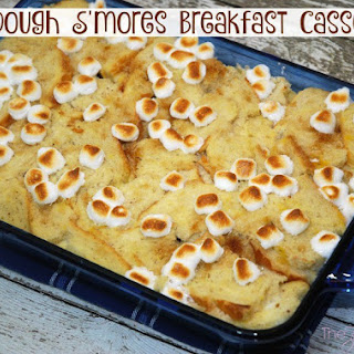 Sourdough S'mores Breakfast Casserole