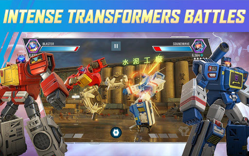TRANSFORMERS: Forged to Fight Jogos (apk) baixar gratuito para Android/PC/Windows screenshot