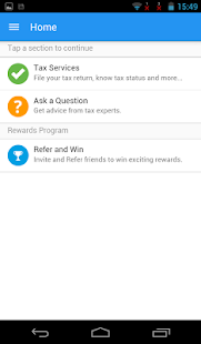 Income tax return filing App for India- screenshot thumbnail