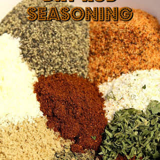 Dry Rub Seasoning.