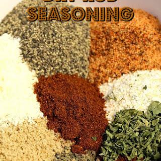 Dry Rub Seasoning.