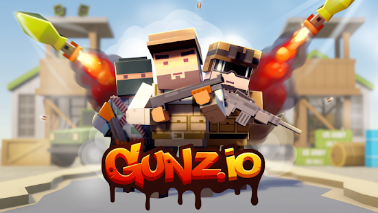 GUNZ.io Pixel Block 3D Multiplayer Pocket Arena- screenshot thumbnail