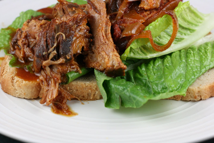 CrockPot Barbecued Pulled Pork Recipe
