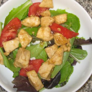 Orange Glazed Chicken Salad