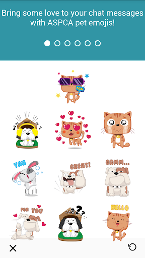 ASPCA Friendly Pets Emoji