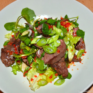 Ginger & Chilli Duck Salad