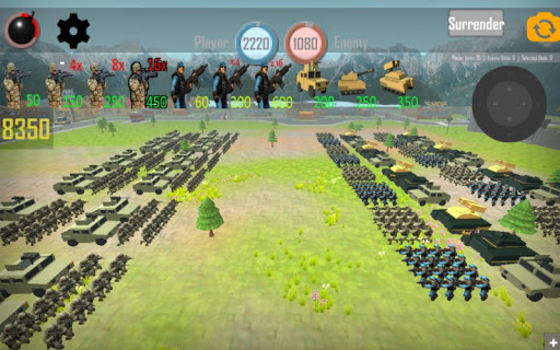 World War 3: European Wars - Strategy Game  captures d'écran 2