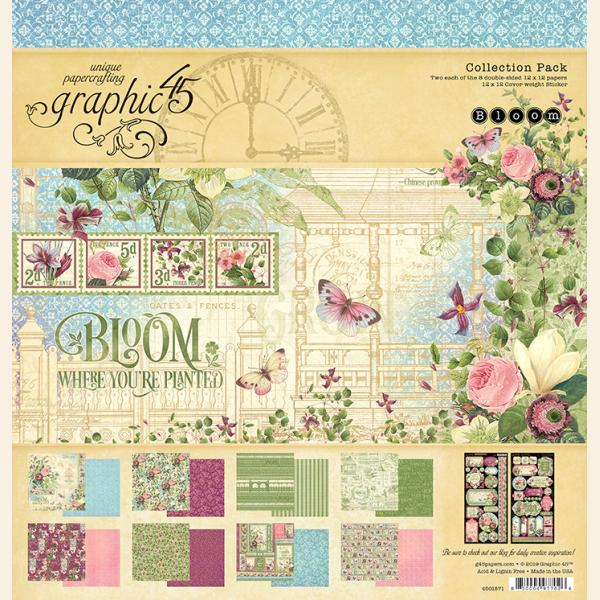 Bloom 12x12 Collection Pack