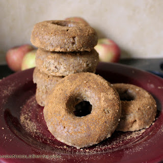 Raw Apple Cider Donuts.