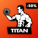 Titan - Home Workout for Men, Personal Trainer icon