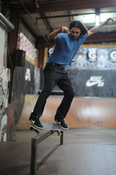 Photo: Porpe has some new moves of his own like feeble grinds.