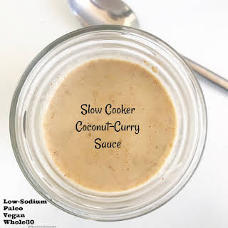 Slow Cooker Coconut-Curry Sauce (Paleo/Whole30).