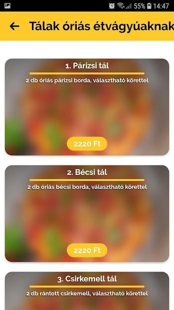 Fatálas Étterem Győr screenshot 1