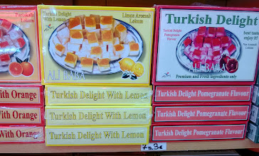 Photo: Lokum-makeisia, in english Turkish Delight