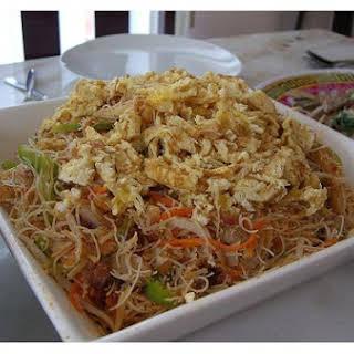 Fried Vermicelli Noodles.