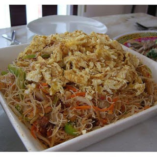 Fried Vermicelli Noodles.